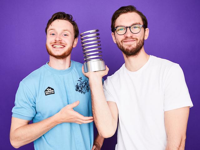 Christian Skjøtt og Alexander Keblow Kofoed